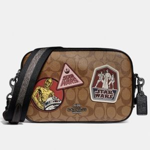 Coach x star wars cross body bag